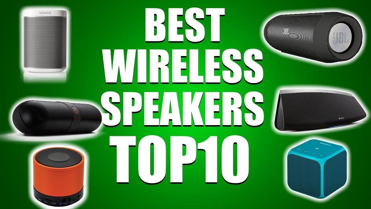 TOP 10 best wireless speakers of 2020